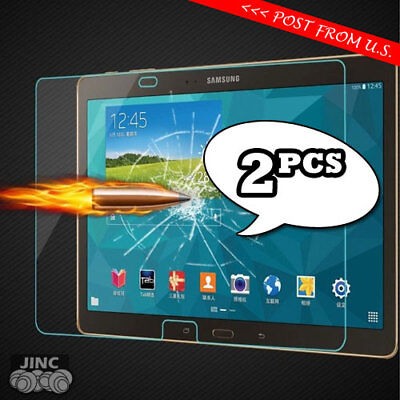 2 X Tempered Glass Screen Protector for Samsung Galaxy Tab 4 Tab4 7.0 SM-T237P