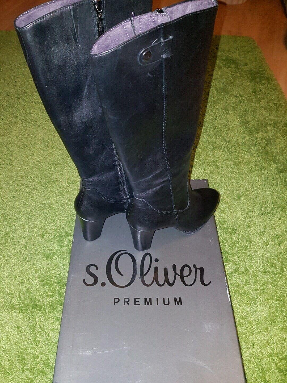 S.Oliver NEU Damenstiefe NEU S.Oliver l Gr 36  NEUPREIS 140 EURO 665205