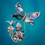 Crystocraft-Butterfly-amp-Flower-Crystal-Ornament-With-Swarovski-Elements-Gift-Box thumbnail 8