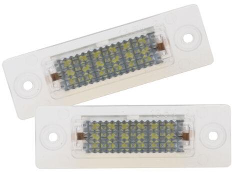 LED CAN-Bus Xenon Weiß 6000K Kennzeichenleuchte Kennzeichenbeleuchtung VW  A557