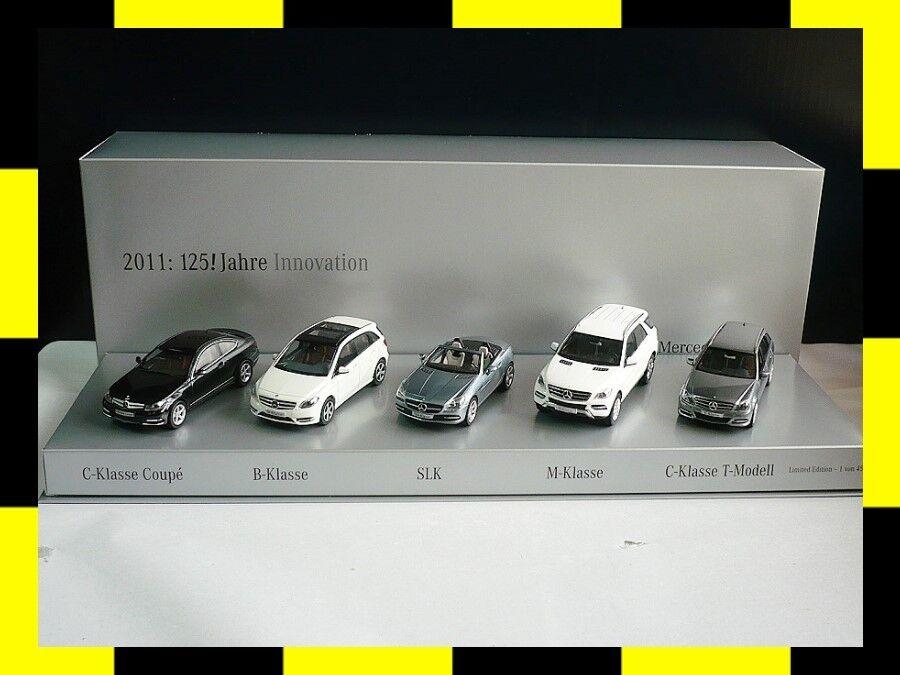 Mercedes-Benz presseset 2011 125 années d'innovation Minichamps Schuco 1 43