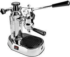 La Pavoni Europiccola El Chrome Manual Lever Espresso Machine Cappuccino Maker