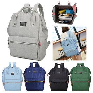 Women Men Backpack Travel Satchel Rucksack Laptop Shoulder School