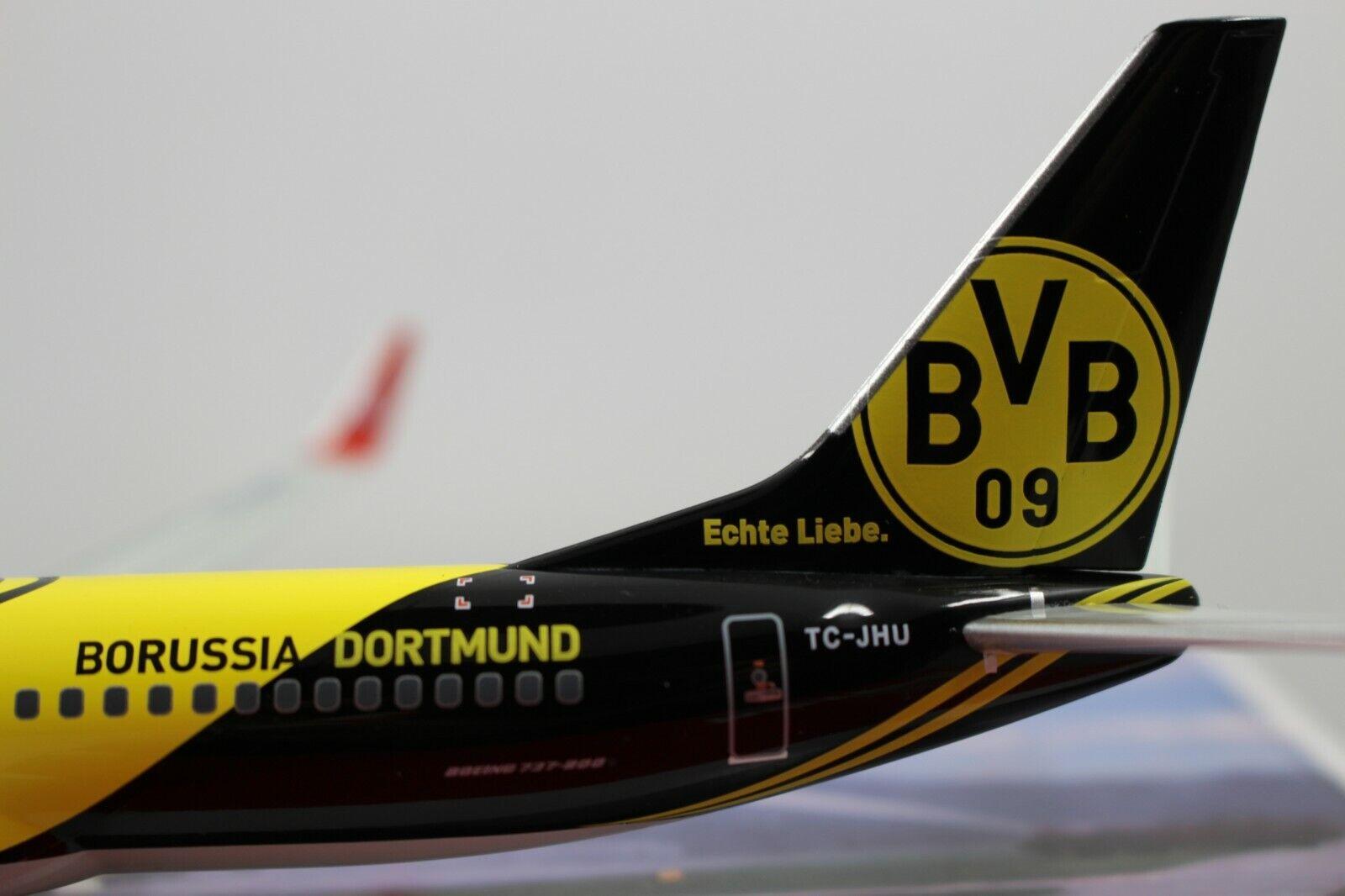 controlla il più economico Herpa Wings 1 200 Turkish Turkish Turkish Airlines Boeing 737-800 BVB Borussia Dortmund (556477)  risparmia fino al 50%