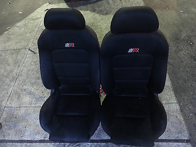 Seat Leon Cupra R 225 2004 1.8T Interior pair of genuine Front Seats + rails