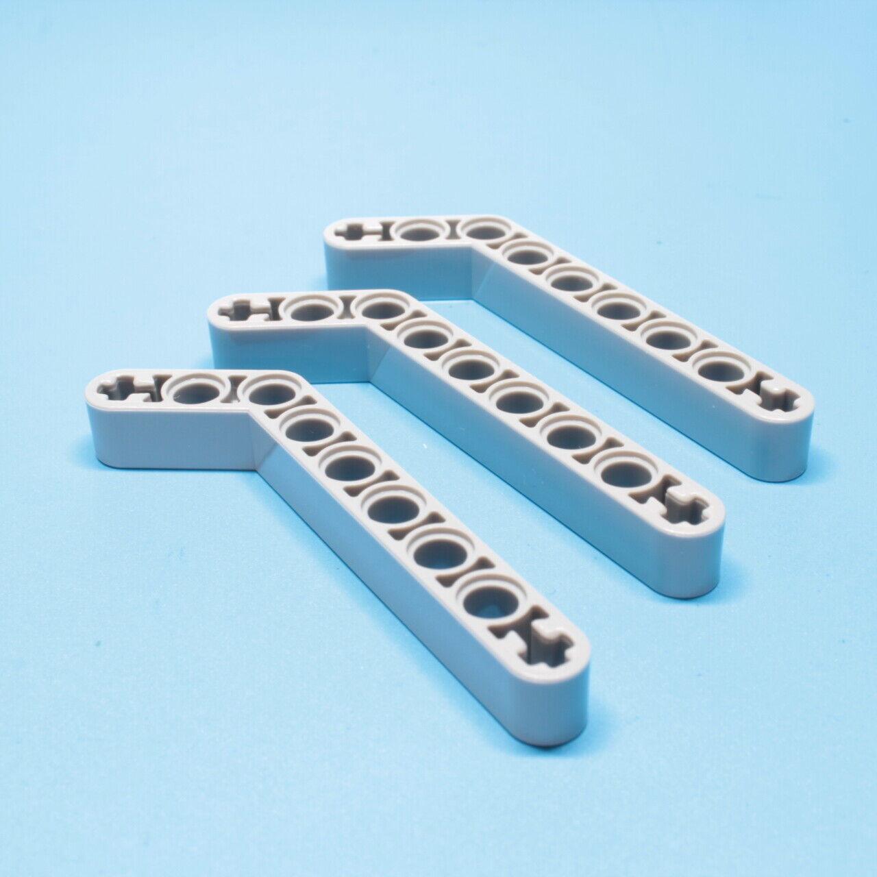 5x Lego® Technic Liftarm 32271 1 x 9 gebogen 7-3 hellgrau Technik 4211624