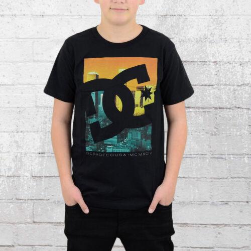 DC Shoes Enfants et jeunes T-shirt curbate NOIR KIDS Thé Black Children T