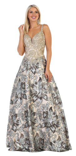 UNIQUE SPECIAL OCCASION PROM DRESS FORMAL RED CARPET DESIGNER EVENING GALA GOWN