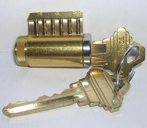 Cutaway Lock Cylinder For Locksmith Practice And Training