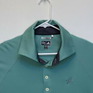 Adidas-Mens-Climacool-Golf-Polo-Green-Large