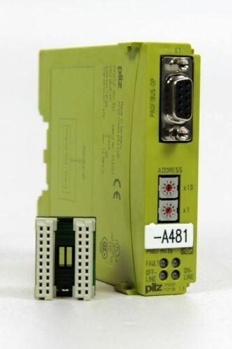 Erweiterungsmodul Profibus PNOZ mc3p PILZ V1.3-773721