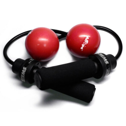 Red Power Systems 34902 Airope Pro Resistance Weighted Rubber Jump Rope Pair