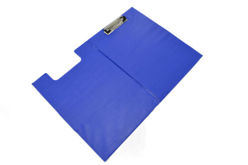A4 Clipboard Solid Single Fold-Over Transparent Various color  Choose Quantity