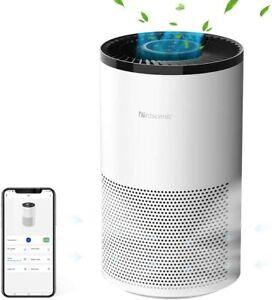 DEPURATORE DELL'ARIA proscenic A8 con H13 Vero Hepa Filtro 4 velocità portatile aria più pulita
