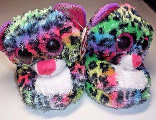 New Ty Beanie Boos big head slippers Dotty Leopard girls slipper S M L XL XXL