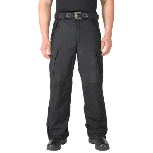 5.11 TACTICAL WATERPROOF PATROL RAIN PANTS ARMY COMBAT MENS CARGO TROUSERS BLACK