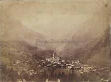 Alagna Valsesia Verceil Italie Italia Vintage albumine ca 1880