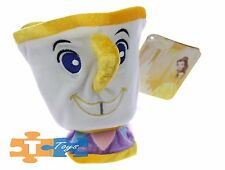 "Chip Beauty & the Beast 2017 Disney 5"" Soft Bean Bag Plush Figure ""NEW"""