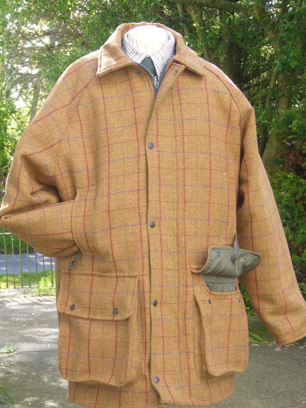Nuevo Abrigo Abrigo Abrigo De Lana Tweed Tiro Caza Impermeable Chaqueta 5d8be1