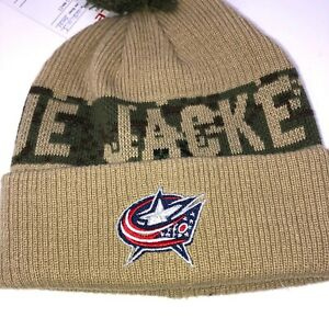 New-Columbus-Blue-Jackets-Youth-Knit-Winter-Hat-NHL-Cap-Hockey-Youth-Size