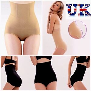 2ee3174f740 UK LADIES BODYSHAPER BRIEFS HIGH WAISTED GIRDLE FOR WOMEN PULL ME IN ...