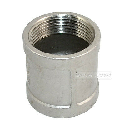 """1/8""""--2""""Female x Female Couple Stainless Steel 304 Threaded Pipe Fitting BSP NEW"""
