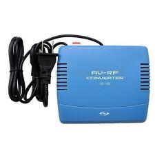 RF Modulator AV-RF AV-TV Converter RCA Ant Input To F Type Coax Output DVD New