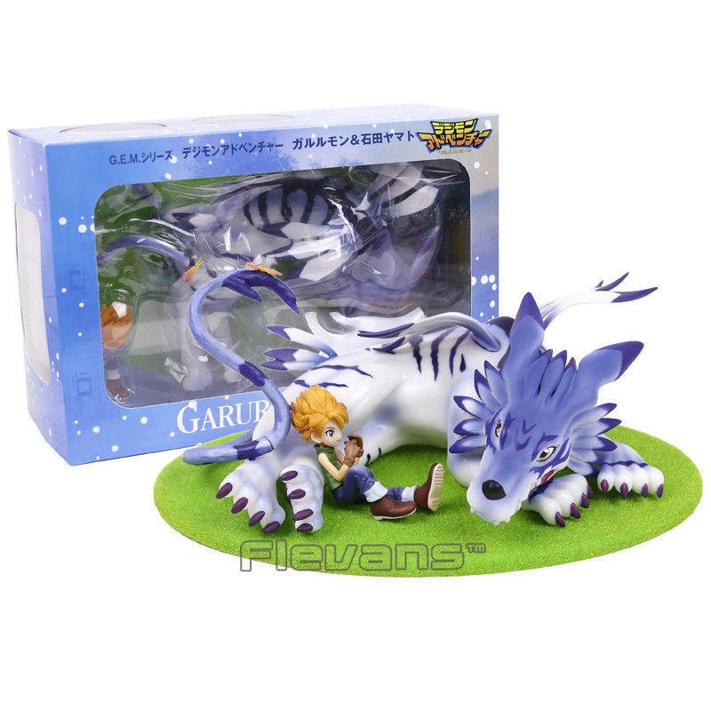 Digimon Digimon Digimon Adventure - Figura Gabumon & Yamato   Garurumon & Yamato Figure 23cm fb3fa7