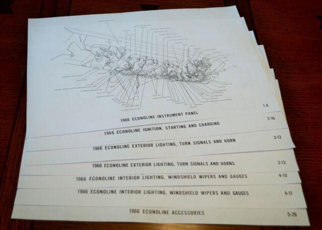1966 Ford Econoline Van Wiring Diagram Diagrams 11 U0026quot X17
