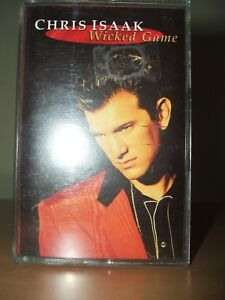 CHRIS-ISAAK-Wicked-Game-Cassette-1991-WEA-WX406C-Ex