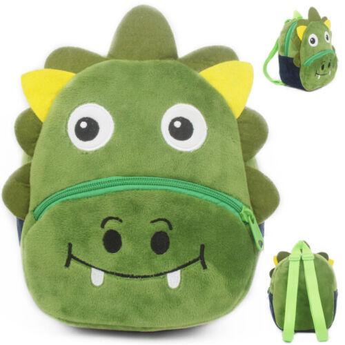 Lovely Children 3D Cartoon Animal Backpack Rucksack Child Boys Girls School Bag