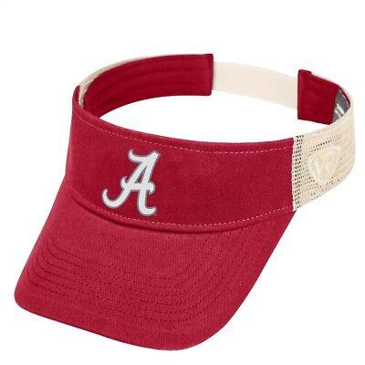 Top of the World Alabama Crimson Tide NCAA Ballholla Mesh Back Visor