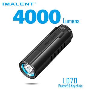 Imalent LD70 LED Taschenlampe mit 4000 Lumen und in vier Farben Flashlight Torch