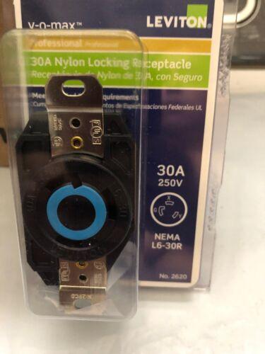 Leviton 30A Nylon Locking Receptacle Nema L6-30R