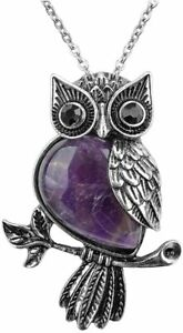 Top-Plaza-Owl-Necklaces-Healing-Crystal-Stone-Pendant-Reiki-Spiritual-Energy-Gem