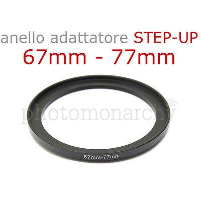 Adattatore Filtro Step-Down Ring 77mm-67mm Anello Adattatore