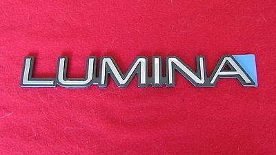 "NEW OEM Red Chevy /""LUMINA/"" Nameplate Emblem Badge 10120232"