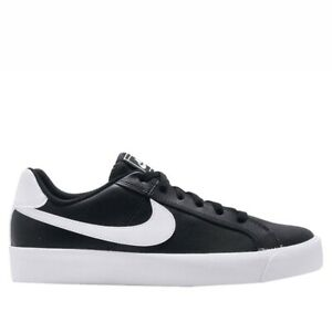 Nike-Court-Royale-AC-Men-039-s-Casual-Sneaker-Shoes-Black-White-Size-7-5-NEW