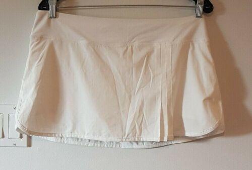 Lululemon Women's Skirt Skort Shorts White Tennis