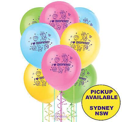 10pcs  Shopkins 12/'/' Helium Party Balloon Decorations