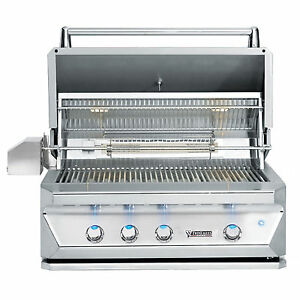 Twin Eagles 36 Inch Built-In Natural Gas Grill with Infrared Rotisserie and Sear