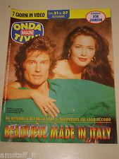 ONDA TIVU=1997/38=RONN MOSS=HUNTER TYLO=BEAUTIFUL SOAP OPERA=CORRADO CORRIDA
