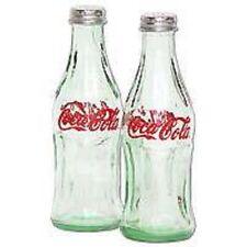 Retro Glass Coca Cola Bottle Salt And Pepper Shakers by Coca-Cola (NIB)