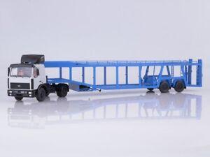 1-43-MAZ-5432-with-semi-trailer-for-auto-transporter-934410-908-1981-SSM7052