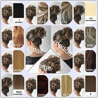 Stranded Top Premium Hair Scrunchie Add-it in Small, Medium & Large 19 colours