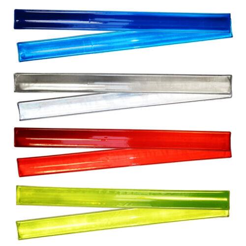 10x SICUREZZA RIFLETTENTI Arm Band Light Up per il ciclismo Jogging Corsa Trekking Sport