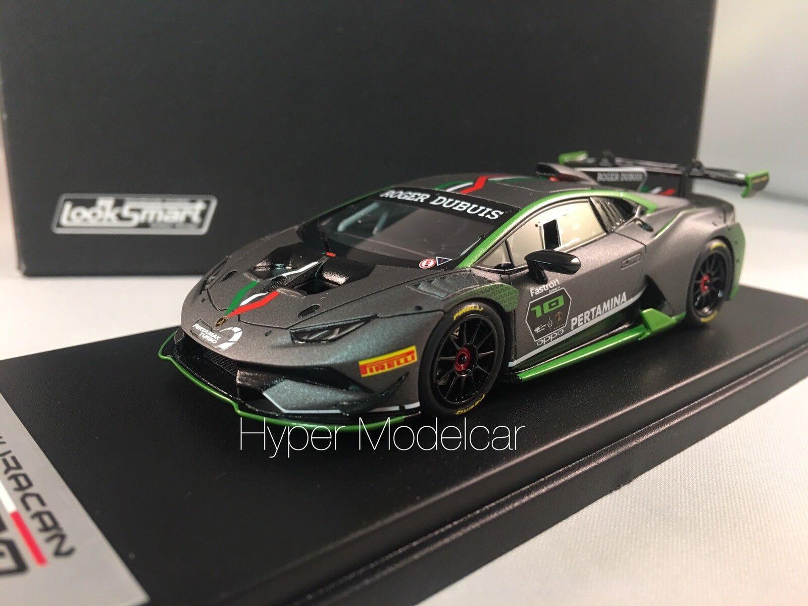 LOOKSMART 1 43 Lamborghini Huracan LP620-2 EVO  10 Super Trofeo 2017 - LS483B
