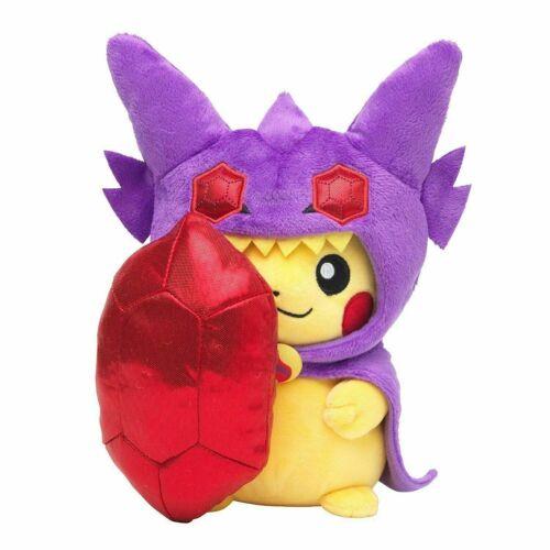 """NEW Pokemon 8/"""" Mega Sableye Pikachu Plush Toy 20CM 8inch"""