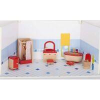 wooden dolls house furniture kitchen accessories garden tables chairs NEW