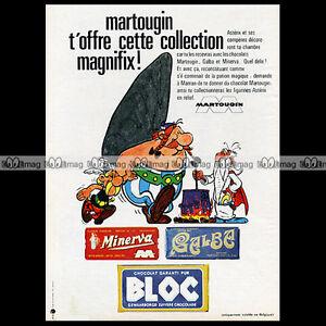 ASTERIX-amp-CHOCOLATS-MARTOUGIN-Uderzo-1968-Pub-Publicite-Ad-A11